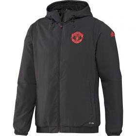 Manchester United Cup Training Presentation Jacket - Brown