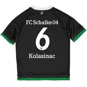 Schalke 04 Third Shirt 2015-17 - Kids Grey with Kolasinac 6 printing