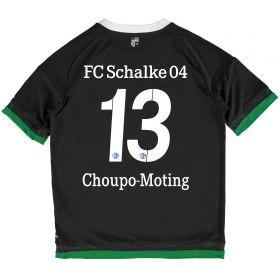 Schalke 04 Third Shirt 2015-17 - Kids Grey with Choupo-Moting 13 printing