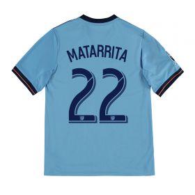 New York City FC Home Shirt 2017-18 - Kids with Matarrita 22 printing