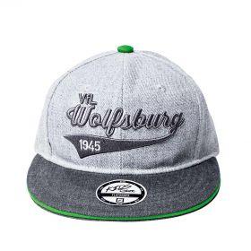 VfL Wolfsburg Snapback Cap - Grey - Kids
