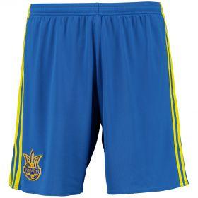 Ukraine Away Shorts 2016 - Blue