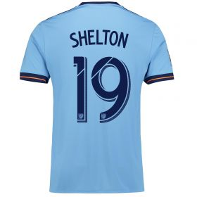 New York City FC Home Shirt 2017-18 with Shelton 19 printing