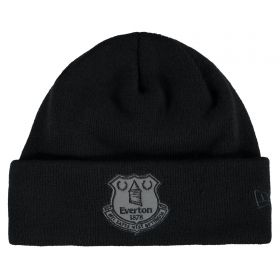 Everton New Era Reflective Cuff Beanie - Black