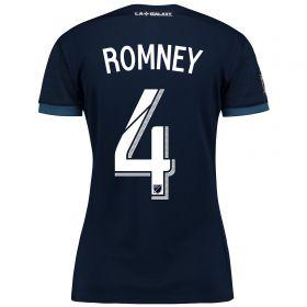 LA Galaxy Away Shirt 2017-18 - Womens with Romney 4 printing