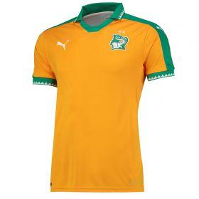 Ivory Coast Home Shirt 2016-17 with Kalou 8 printing