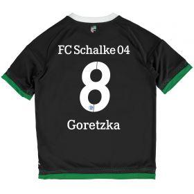 Schalke 04 Third Shirt 2015-17 - Kids Grey with Goretska 8 printing