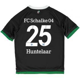 Schalke 04 Third Shirt 2015-17 - Kids Grey with Huntelaar 25 printing