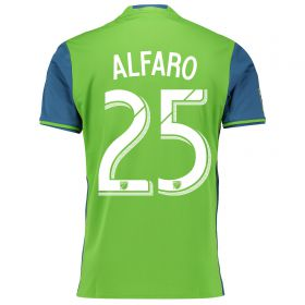 Seattle Sounders Home Shirt 2016 with Alfaro 25 printing