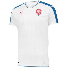 Czech Republic Away Shirt 2016 White