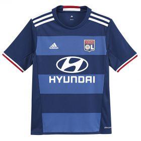 Olympique Lyon Away Shirt 2016-17 - Kids with Memphis 9 printing