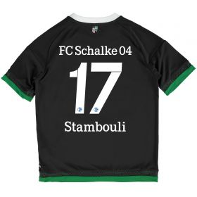 Schalke 04 Third Shirt 2015-17 - Kids Grey with Stambouli 17 printing