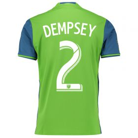 Seattle Sounders Home Shirt 2016 with Dempsey 2 printing