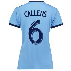 New York City FC Home Shirt 2017-18 - Womens with Callens 6 printing
