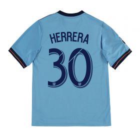 New York City FC Home Shirt 2017-18 - Kids with Herrera 30 printing