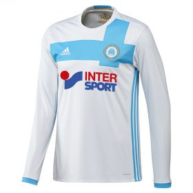 Olympique de Marseille Home Shirt 2016/17 - Long Sleeved with Patrice Evra 21 printing