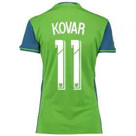 Seattle Sounders Home Shirt 2016 - Womens with Kovar 11 printing