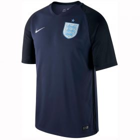 England Away Stadium Shirt 2017-18 - Kids with Rooney 10 printing