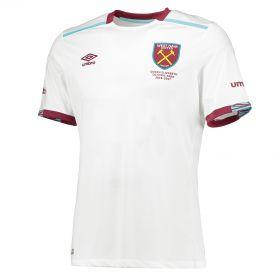 West Ham United Away Shirt 2016-17 - Kids with Ayew 20 printing