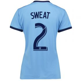 New York City FC Home Shirt 2017-18 - Womens with Sweat 2 printing