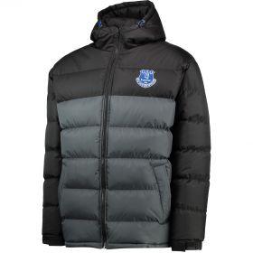 Everton Essentials Padded Coat - Grey/Black