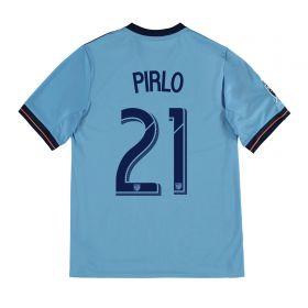 New York City FC Home Shirt 2017-18 - Kids with Pirlo 21 printing