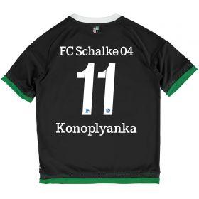Schalke 04 Third Shirt 2015-17 - Kids Grey with Konoplayanka 11 printing