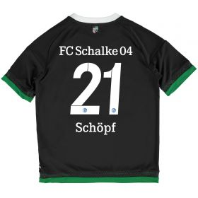 Schalke 04 Third Shirt 2015-17 - Kids Grey with Schöpf 21 printing