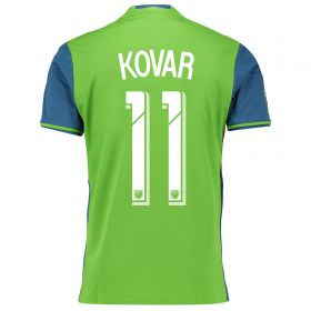Seattle Sounders Home Shirt 2016 with Kovar 11 printing