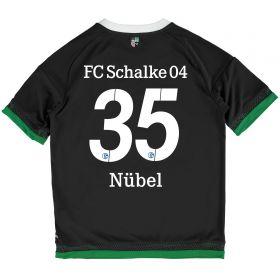 Schalke 04 Third Shirt 2015-17 - Kids Grey with Nübel 35 printing