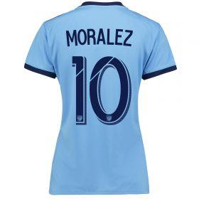 New York City FC Home Shirt 2017-18 - Womens with Moralez 10 printing