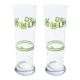 VfL Wolfsburg Wheat Beer Glass - 2 Pack