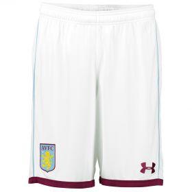 Aston Villa Home Shorts 2016-17 White