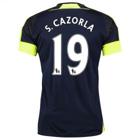 Arsenal Third Shirt 2016-17 with S.Cazorla 19 printing