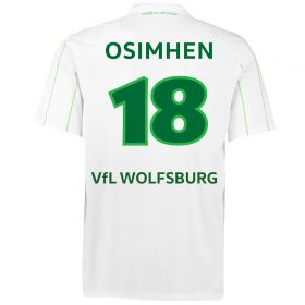 VfL Wolfsburg Away Shirt 2016-17 with Oshimen 18 printing