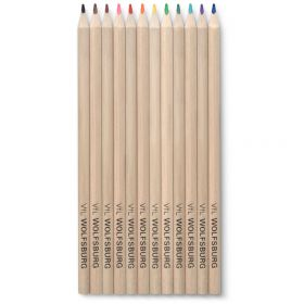 VfL Wolfsburg Coloured Pencils - 12 Pack