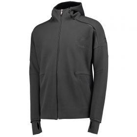 All Blacks Anthem Jacket - Dark Grey Heather/Solid Grey