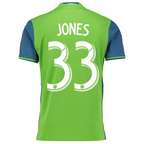 Seattle Sounders Home Shirt 2016 with Jones 33 printing
