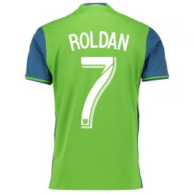 Seattle Sounders Home Shirt 2016 with Roldan 7 printing