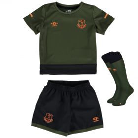 Everton Third Baby Kit 2015/16 with Baines 3 printing