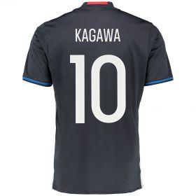 Japan Home Shirt 2016 Navy with Kagawa 10 printing
