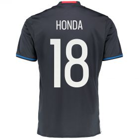 Japan Home Shirt 2016 Navy with Honda 18 printing