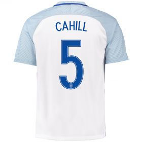 England Home Shirt 2016 with Cahill 5 printing