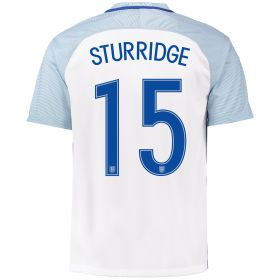 England Home Shirt 2016 with Sturridge 15 printing