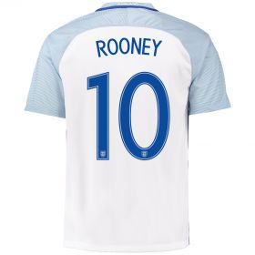 England Home Shirt 2016 with Rooney 10 printing