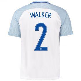 England Home Shirt 2016 with Walker 2 printing