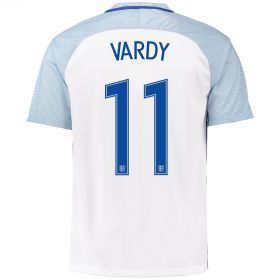 England Home Shirt 2016 with Vardy 11 printing