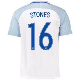 England Home Shirt 2016 with Stones 16 printing