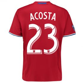 FC Dallas Home Shirt 2016 with Kellyn Acosta 23 printing