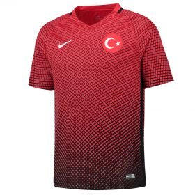 Turkey Home Shirt 2016 - Kids with Turan 10 printing